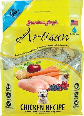 Grandma Lucy's Artisan Chicken Grain-Free Freeze-Dried Dog Food