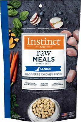 Instinct Raw Meals Cage-Free Chicken Recipe Grain-Free Freeze-Dried Senior Dog Food
