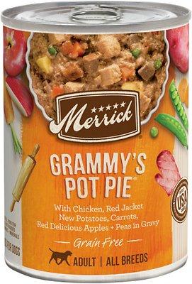 Merrick Grain Free Wet Dog Food Grammy's Pot Pie