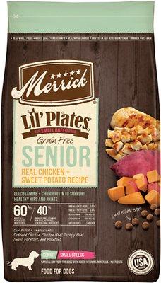 Merrick Lil' Plates Grain-Free Real Chicken & Sweet Potato Senior Dry Dog Food