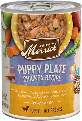 Merrick Grain Free Wet Puppy Food Puppy Plate