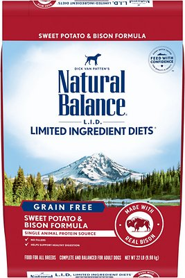 Natural Balance L.I.D. Limited Ingredient Diets Grain-Free