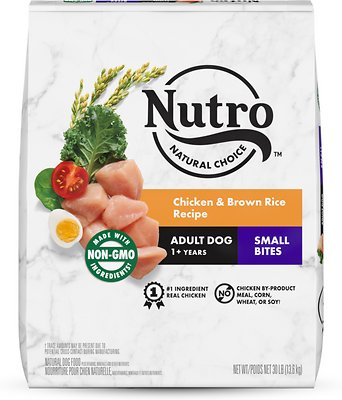 Nutro Natural Choice Small Bites Adult Chicken & Brown Rice Recipe Dry Dog Food