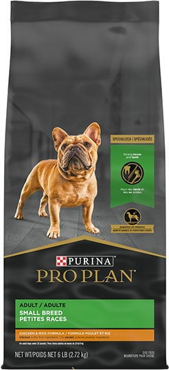 Purina Pro Plan Adult Small Breed Chicken & Rice Formula
