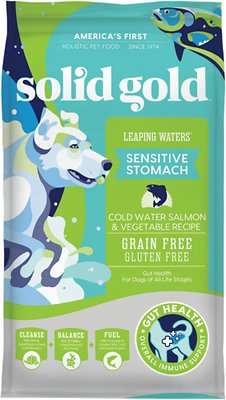 Solid Gold Leaping Waters Sensitive Stomach Grain-Free