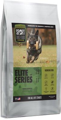 Sport Dog Food Elite Series Working Dog Grain-Free Turkey Formula Dry Dog Food