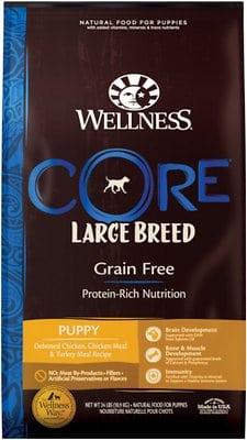 Wellness CORE Grain-Free Large Breed Puppy Deboned Chicken Recipe Dry Dog Food