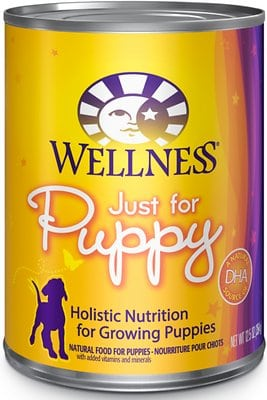 Wellness Complete Health Just for Puppy Canned Dog Food