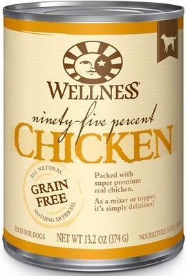 Wellness Ninety-Five Percent Chicken Food Topper