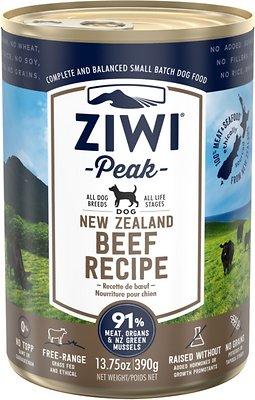 Ziwi Peak Beef Recipe Canned
