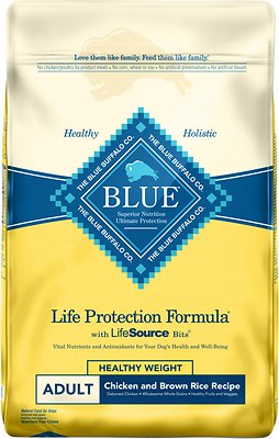 Blue Buffalo Life Protection Formula Healthy Weight Dry Food