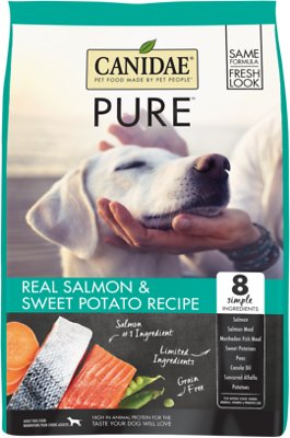 CANIDAE Grain-Free PURE Limited Ingredient Salmon & Sweet Potato Recipe Dry