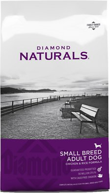 Diamond Naturals Small Breed Adult Chicken & Rice Formula Dry Dog Food