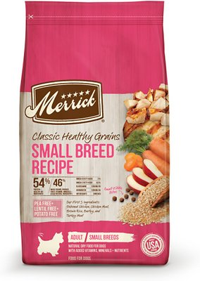 Merrick Classic Healthy Grains Small Breed Recipe Adult Dry Dog Food