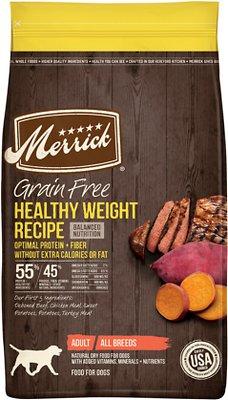 Merrick Grain-Free Health Weight Recipe Dry Food