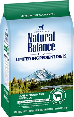 Natural Balance L.I.D. Limited Ingredient Diets Lamb & Brown Rice Formula Dry