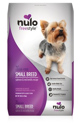 Nulo Freestyle Salmon & Red Lentils Small Breed Grain-Free Dry Dog Food