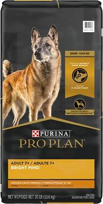 Purina Pro Plan Bright Mind Adult 7+ Chicken & Rice Formula Dry