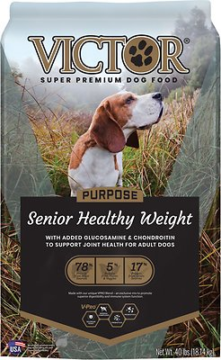 VICTOR Purpose Senior Healthy Weight Dry Dog Food