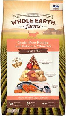 Whole Earth Farms Grain-Free Salmon & Whitefish Dry Dog Food