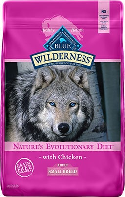 Blue Buffalo Wilderness Small Breed Chicken Recipe