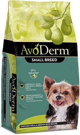 AvoDerm Chicken Meal & Brown Rice Recipe Small Breed Adult Dry Dog Food