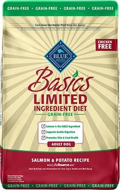 Blue Buffalo Basics Limited Ingredient Salmon & Potato Recipe