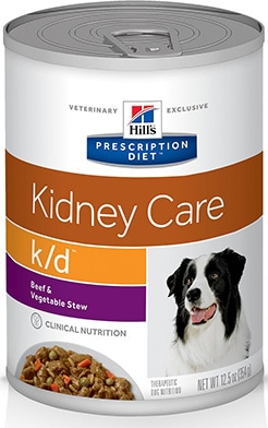 Hill's Prescription Diet K/D Kidney Care Beef & Vegetable Stew
