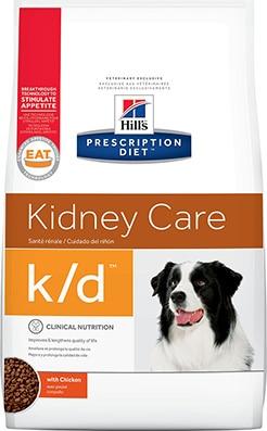 Hill's Prescription Diet K/D with Chicken Kidney Care Dog Food