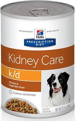 Hill's Prescription Diet K/D Chicken & Vegetable Stew Kidney Care