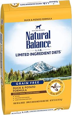 Natural Balance Limited Ingredient Duck & Potato Formula