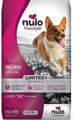 Nulo Freestyle Limited+ Small Breed Grain-Free Turkey Recipe Dry Dog Food