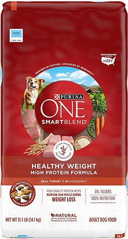 Purina ONE SmartBlend Healthy Weight High Protein Adult Dry Dog Food