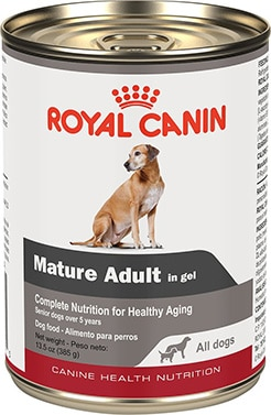 Royal Canin Mature Adult in Gel Canned Dog Food