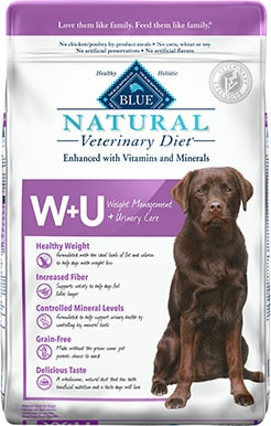 Blue Buffalo Natural Veterinary Diet + Urinary Care for Dogs